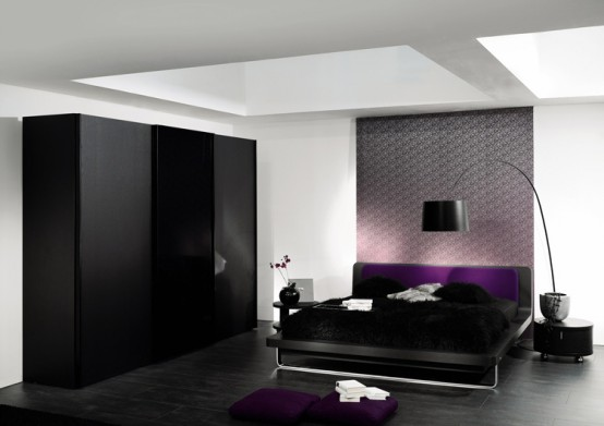 Bed from Temis collection