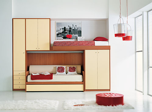 Bunk beds and loft bedrooms for teenagers by ima digsdigs for Best beds for teenager