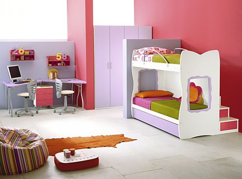 Bunk Beds and Loft Bedrooms for Teenagers by IMA - DigsDigs on Teenager Beds For Small Rooms  id=85733