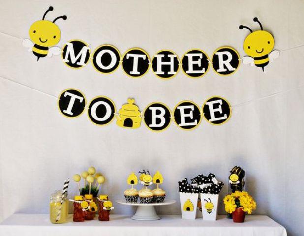 41 gender neutral baby shower d cor ideas that excite. Black Bedroom Furniture Sets. Home Design Ideas