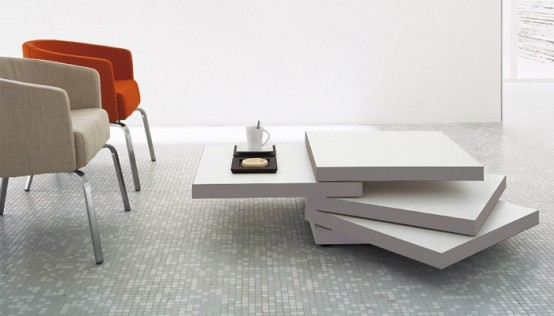 Bellato Rotor Coffee Table by Luciano Bertoncini