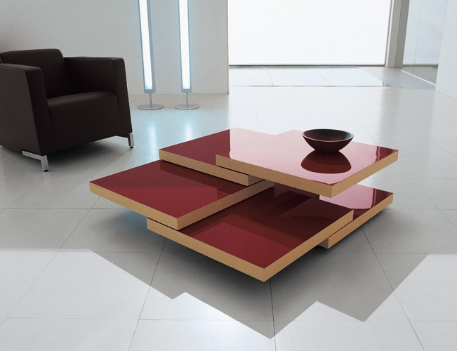 Design Living Room Tables: Bellato Rotor Coffee Table By Luciano Bertoncini
