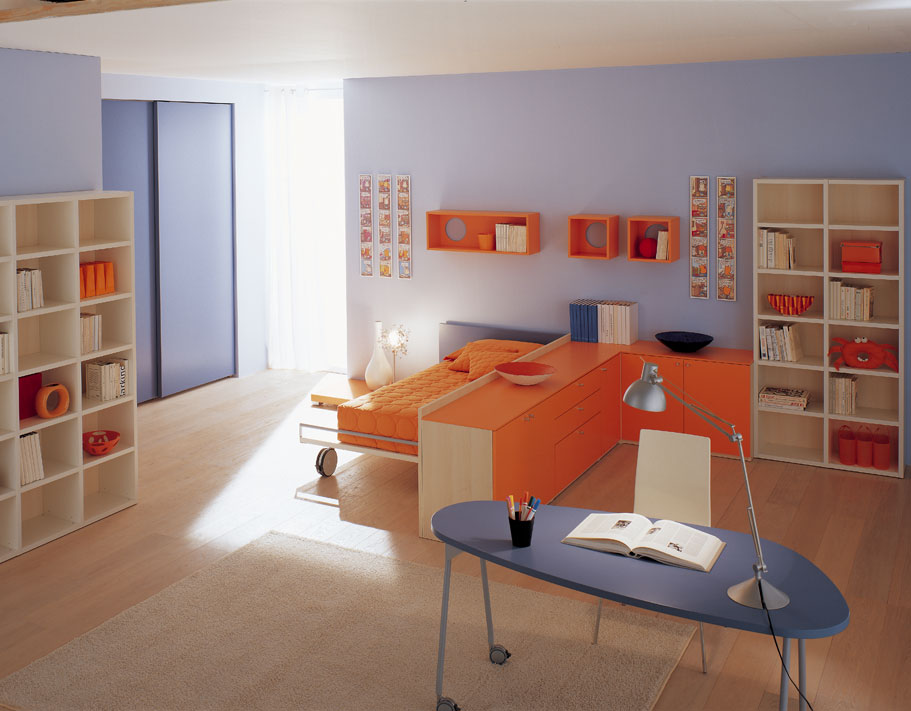 29 Bedroom for Kids Inspirations from Berloni - DigsDigs