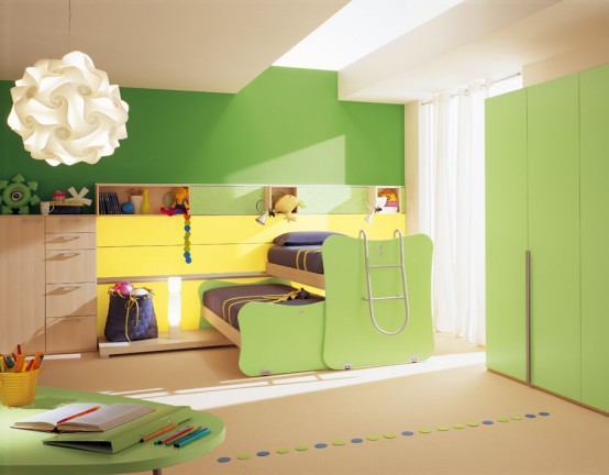 Berloni Bedroom For Kids