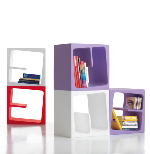 5 The Most Cool Bookshelves of 2010