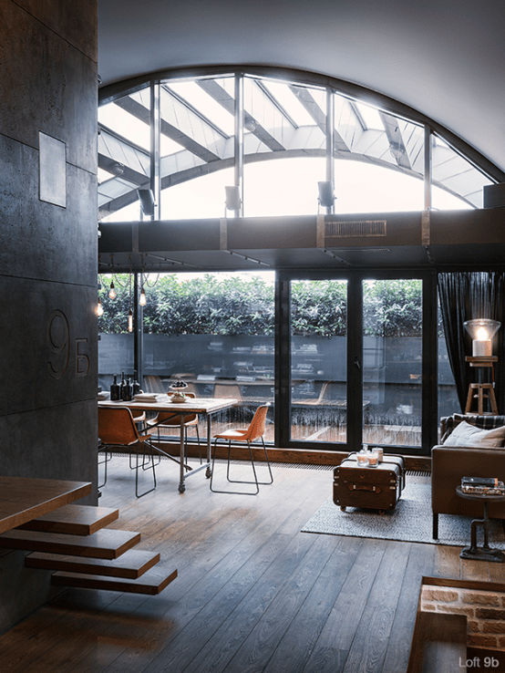 Best Industrial Loft Design June