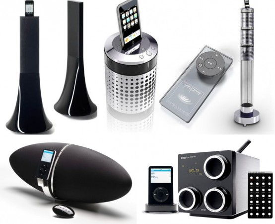 15 Best Designed iPod & iPhone Docks