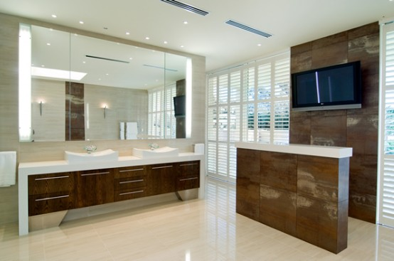 big bathroom