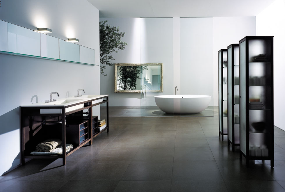 Modern Cabinet 10 Inspiring Modern And Luxury Bathrooms: Very Big Bathroom Inspirations From Boffi