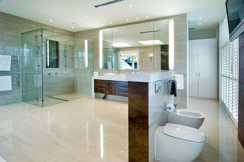 Big bathroom award winning ideas digsdigs Large master bath plans