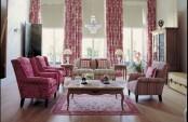 Big Living Room In Warm Shades
