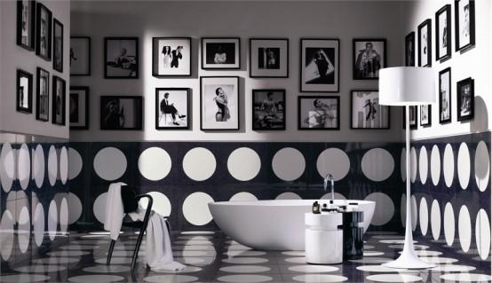 Bubble White Mozaic