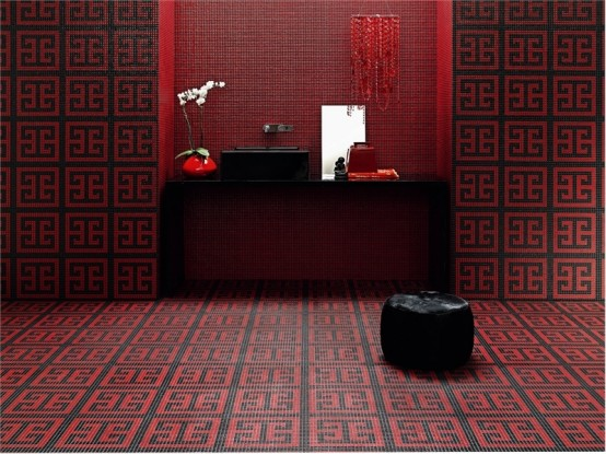 Bisazza Key Red Mozaico