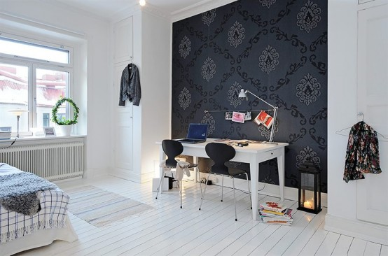 Black And White Apartment Design