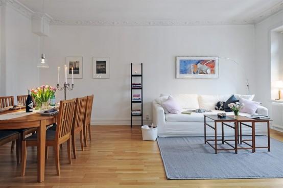Black And White Apartment Design
