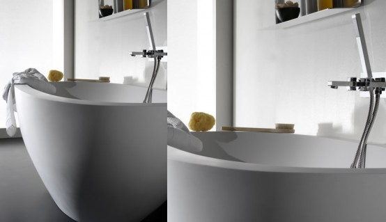 Black and White Bathroom Design Inspirations