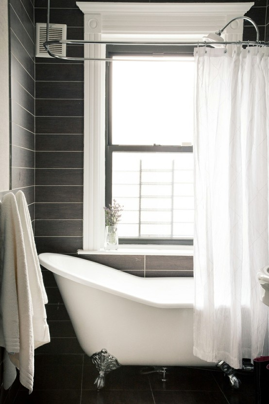 Bathroom Design Grey And White 71 Cool Black And White Bathroom Design Ideas DigsDigs