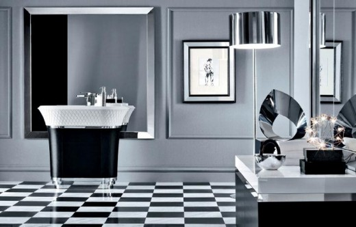 Great Black And White Bathroom Design Ideas Part 24