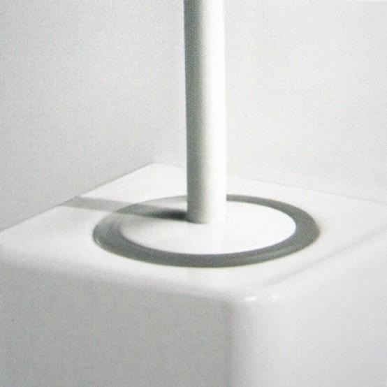 Black And White Ceramic Bathroom Accessories