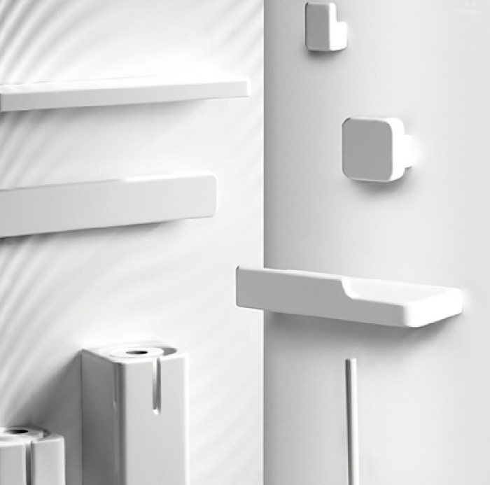 Simple White Bathroom Accessories Ceramic And Serie Box From Roca