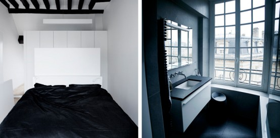 Black And White Flat Interior Design