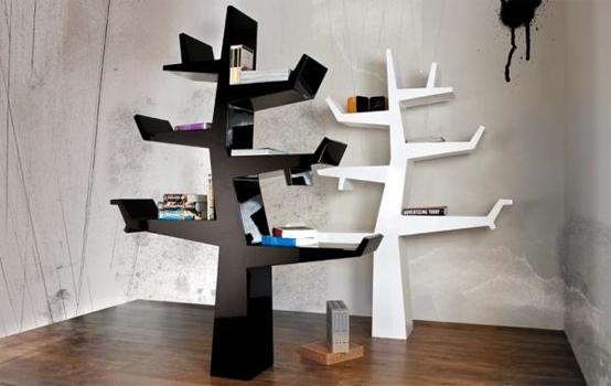5 Cool And Creative Tree Like Bookshelves