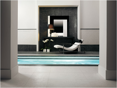 Black And White Tiles By Versace