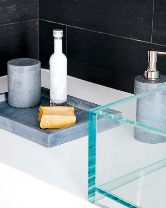 Black Bathroom Design