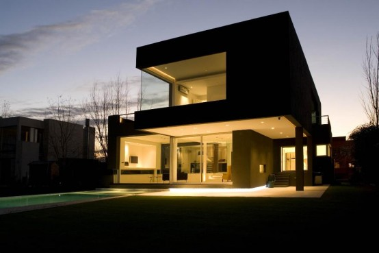 The Black House for Young Couple – Casa MCK