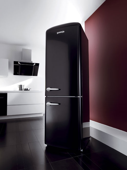 new contemporary retro refrigerator by gorenje digsdigs