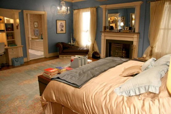 Interiors from Gossip Girl TV Series