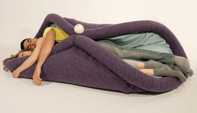 Picture Of blandito cozy cushion that turns you ino a burrito  1