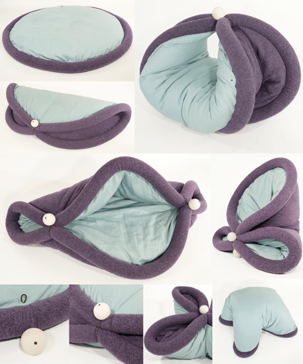 Blandito Cozy Cushion That Turns You Into A Burrito