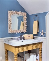 cute sea-inspired bathroom design