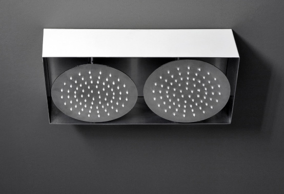 Single and Double Shower Plates – Wings from Boffi