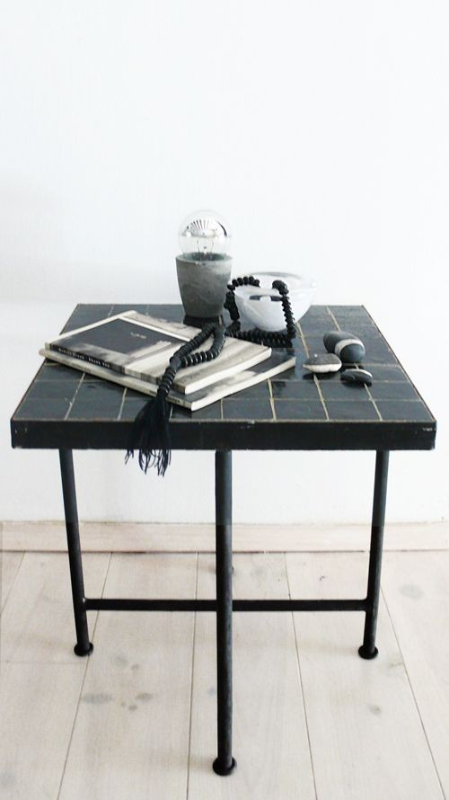 Boho Touch For Your Home: Moroccan Tile Side Table