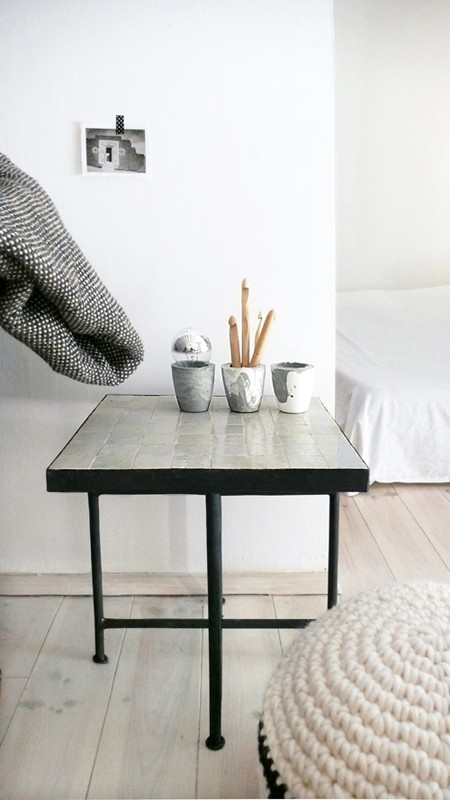 Boho Touch For Your Home Moroccan Tiled Side Table