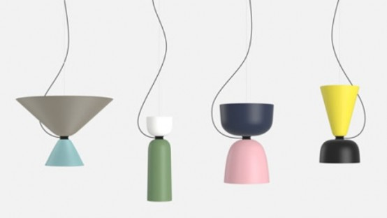Bold Customizable Alphabeta Pendant Lamp