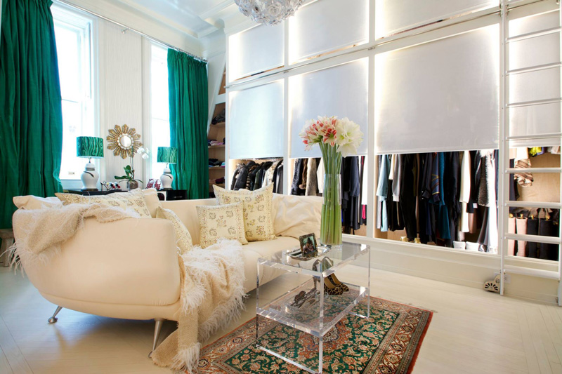 Picture Of bold lavish home with lots of colors and patterns  13