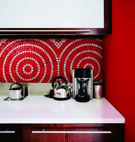 Picture Of bold mosaic kitchen backsplashes to get inspired  13