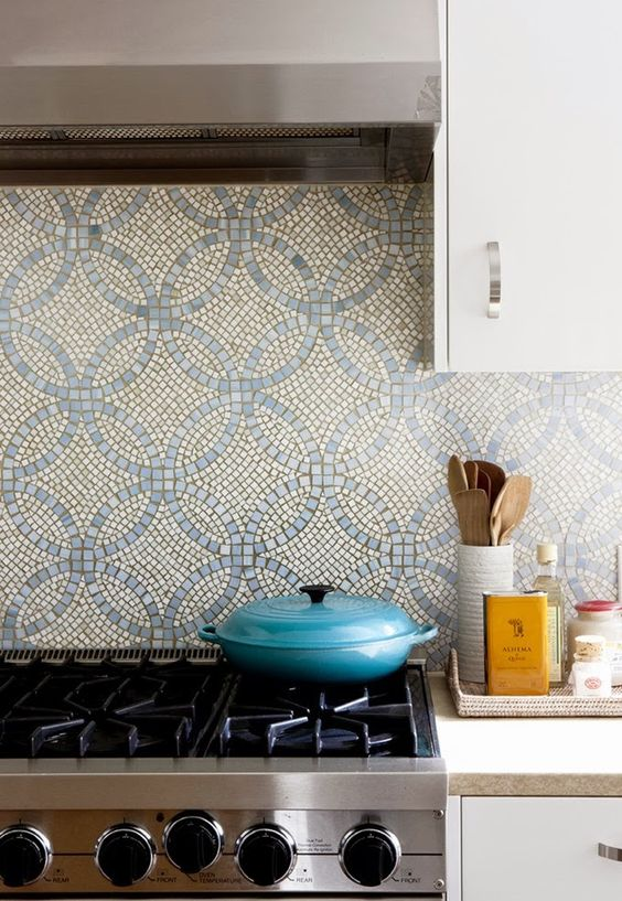 26 Bold Mosaic Kitchen Backsplashes To Get Inspired - DigsDigs