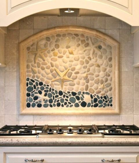 26 bold mosaic kitchen backsplashes to get inspired digsdigs for Backsplash tile mural