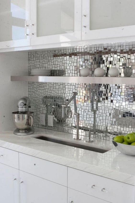 Picture Of bold mosaic kitchen backsplashes to get inspired  8