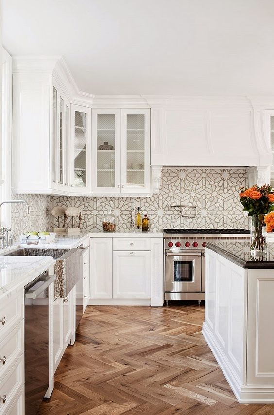 Picture Of bold mosaic kitchen backsplashes to get inspired  9