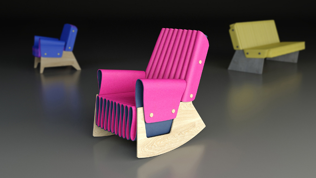 Picture Of bold varhany lounge chair to assemble yourself  1