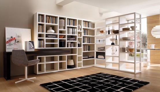 Book Storage Wall Units Crossing