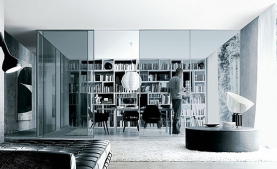 Bookcase For Living Room Opus