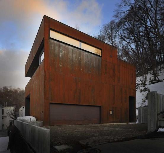 Boukyo House by Nakayama Architects