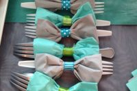 bow tie wraps for a boy baby shower
