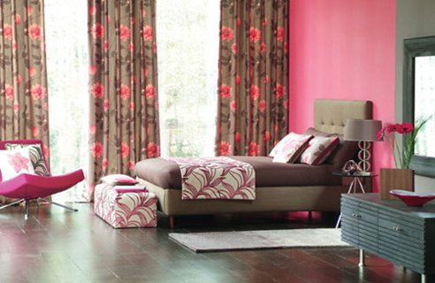 Bown Pink Bedroom